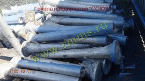 фундаментные части для трубчатых силовых опор